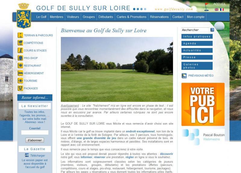 Golf de Sully sur Loire
